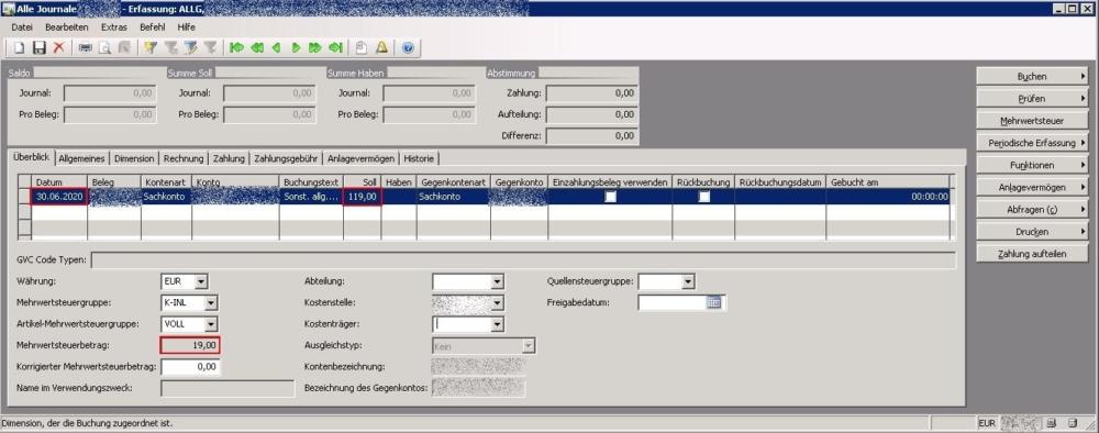 Bug in Dynamics AX 2009 im Bereich MwSt.-Berechnung